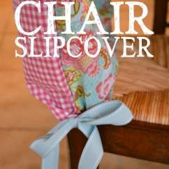 Simple Diy Chair Covers Sofa Loveseat And Slipcover Tutorial Living Well Spending Less Change It Up Add A Little Pizzaz To Your Chairs With This