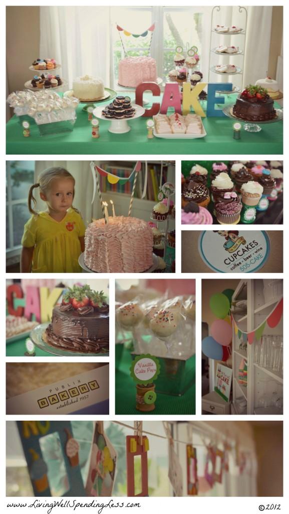 Cake Themed Birthday Party Living Well Spending Less 174