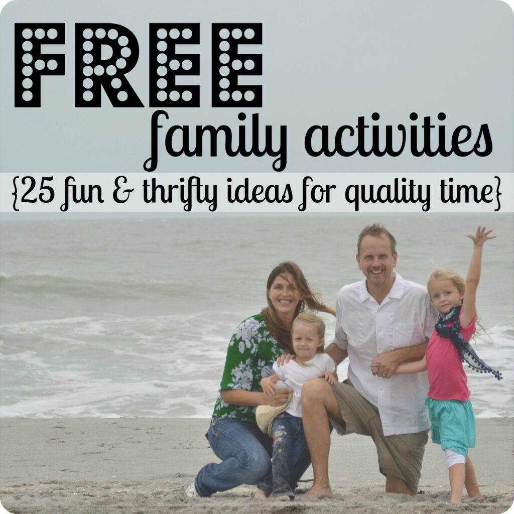 Free Family Activities Day 27