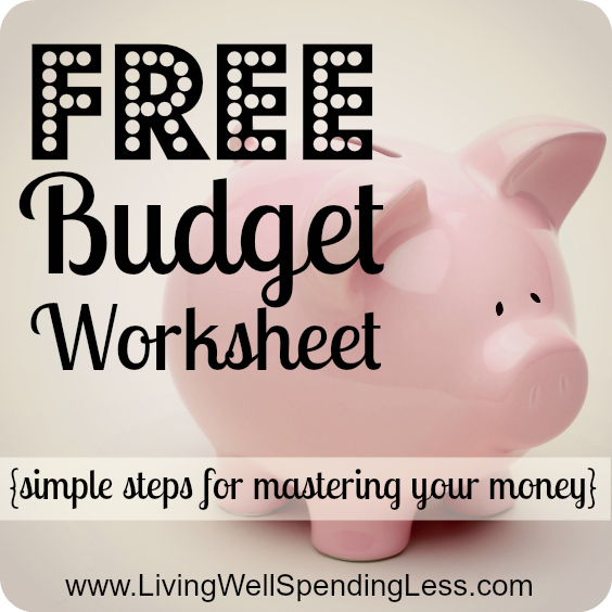 Re-Assess Your Budget {Day 29} - Living Well Spending Less®
