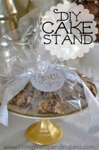 Easy DIY Cake Stand | Handmade Gift Idea | Teacher Gift