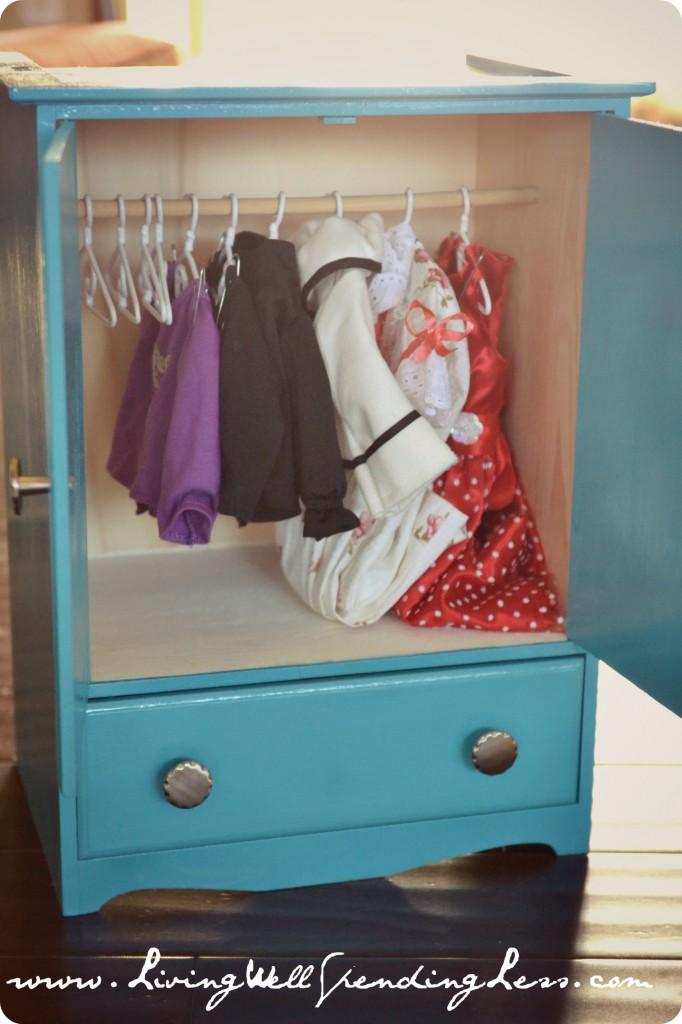 DiY American Girl Doll Bed, Part 2 - Living Well Spending ...