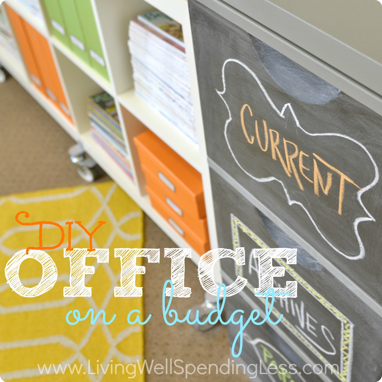 DIY Office On A Budget Living Well Spending Less®