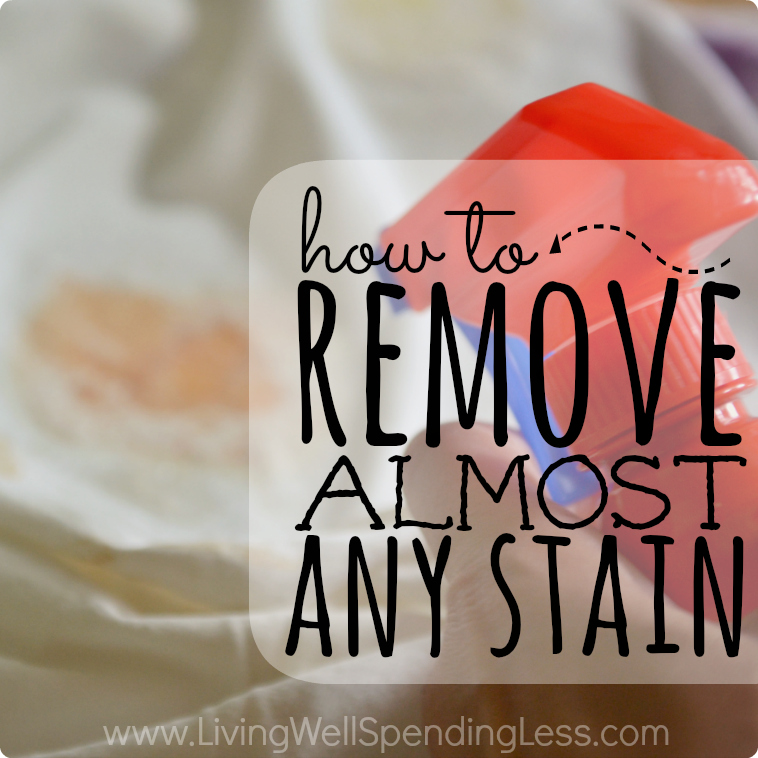 How To Get Rid Of Almost Every Stain