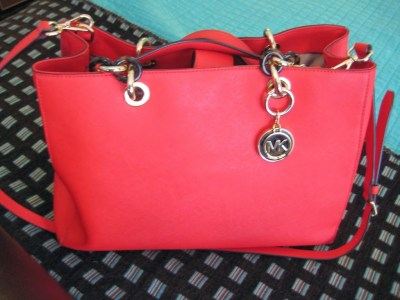 Michael Kors Pocketbook in Poppy