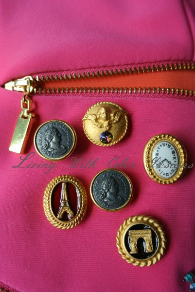 variety of gold toned button covers livingwithcolordesigns.com