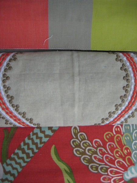 Juniper Ogee Embroidery by Thibaut - Living With Color Designs