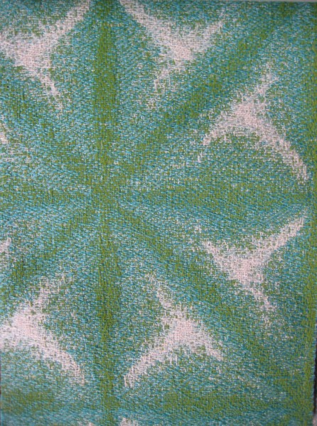 Kiwi and Aqua Outdoor Fabric - Living With color Designs