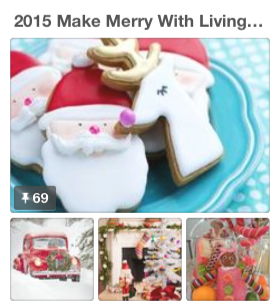Pinterest Make Merry with LWCD 2015