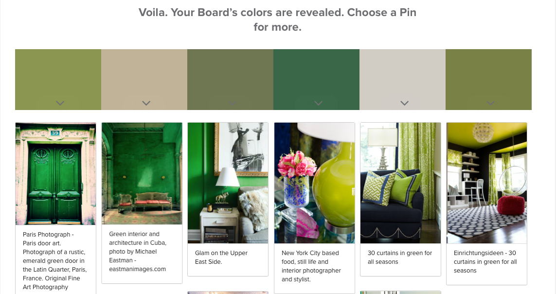 Valspar + Pinterest: Pin Color Analyzer At Ask Val By