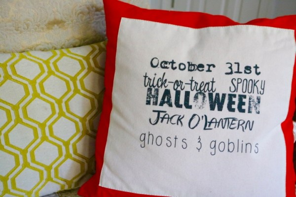 Chinoiserie Pumpkin: Living With Color Designs Blog- French Laundry Halloween Throw Pillow