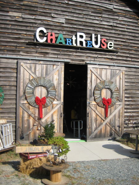 Chartreuse Barn Sale: Living With Color Designs Blog