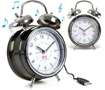 Retro Mp3 Alarm Clock Main