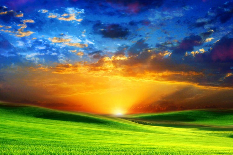 Sunrise Landscape Desktop Wallpapers