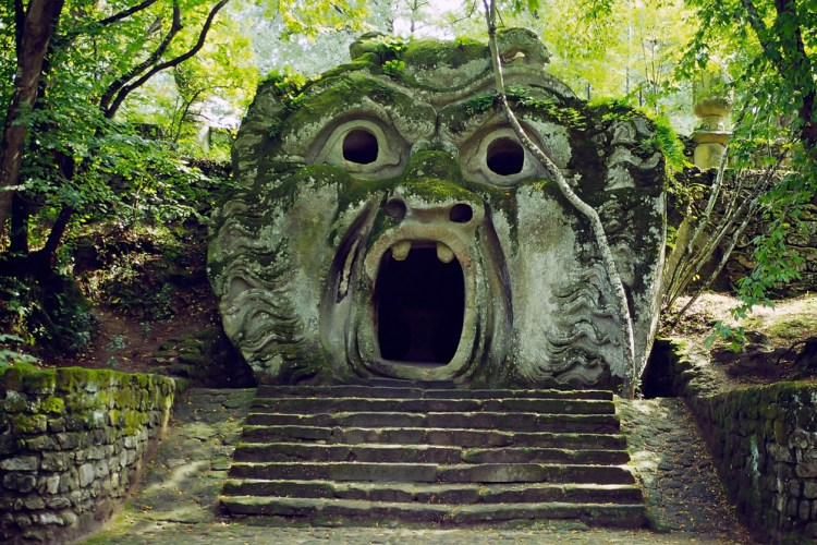 Monsters In Bomarzo Italy 3