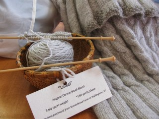 Angora/Wool Yarn CSA Share