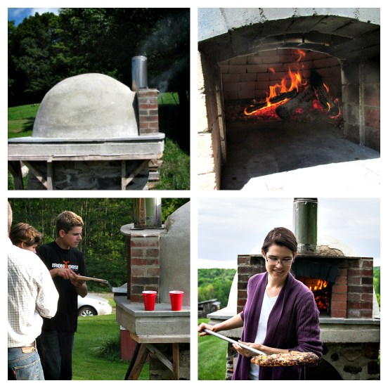 Wood-Fired Oven at VT Grand View Farm