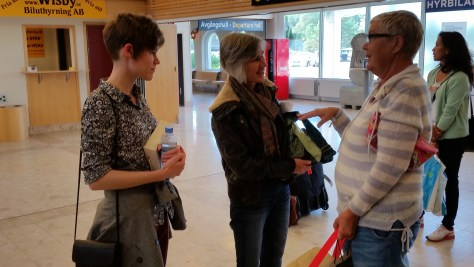 Anita Welcomes Us to Gotland