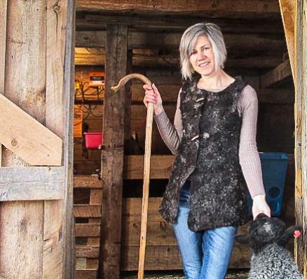 Gotland Wool Felted Vest