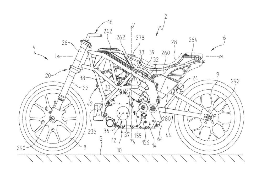 Indian Motorcycle files patent for FTR1200 supposed to be