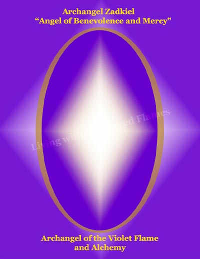 Archangel Zadkiel Living With The Sacred Flames