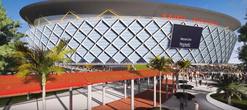 FAITH THEATRE PROJECT(100,000 Seat Stadium-Like Sanctuary) Living Faith Church Worldwide 2015 29445