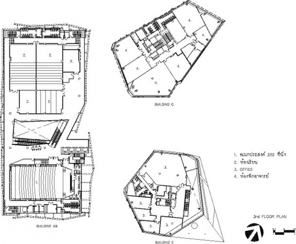 BANGKOK UNIVERSITY DIAMOND IN THAILAND BY ARCHITECTS 49