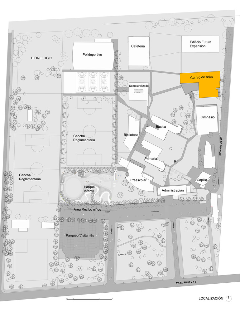 Centro de artes localización