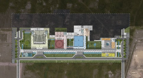 Congo Kintele Congress Center_23_AVCI Architects_floor plans