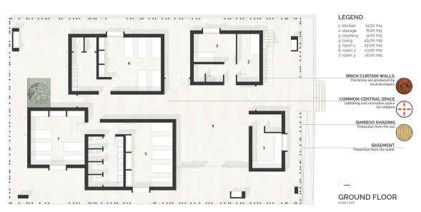 casa rana_01_made in earth_01_drawings_01_plans
