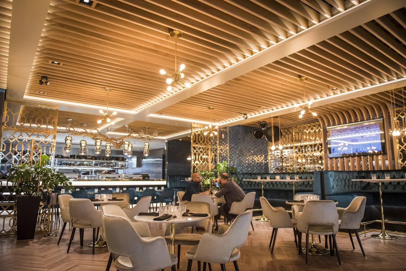 Restaurant Interieur Design.Drake S Pick 6ix Restaurant In Toronto Designed By Kroeze