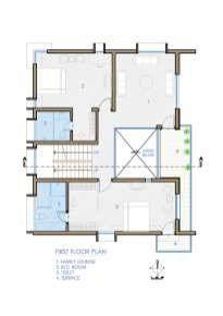 Swarajya Residence_Suni Patil_FIRST FLOOR PLAN-N