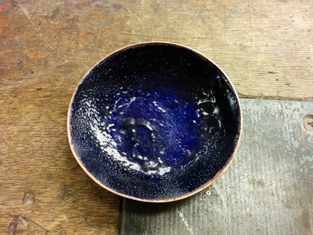 Result after 3 layers of enamel