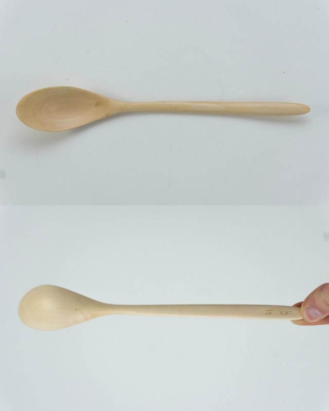 Field maple spoon curved