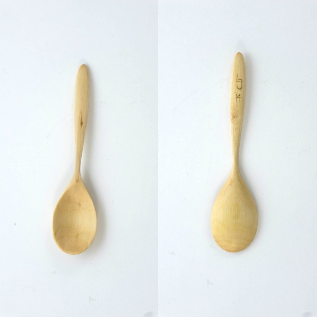 Wild or dog rose sugar spoon