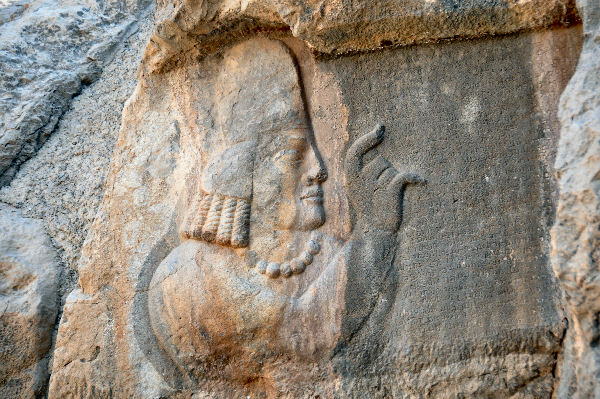 The Sasanian high priest Kartir, who persecuted Mani and his followers