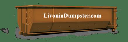 Dumpster rental Livonia