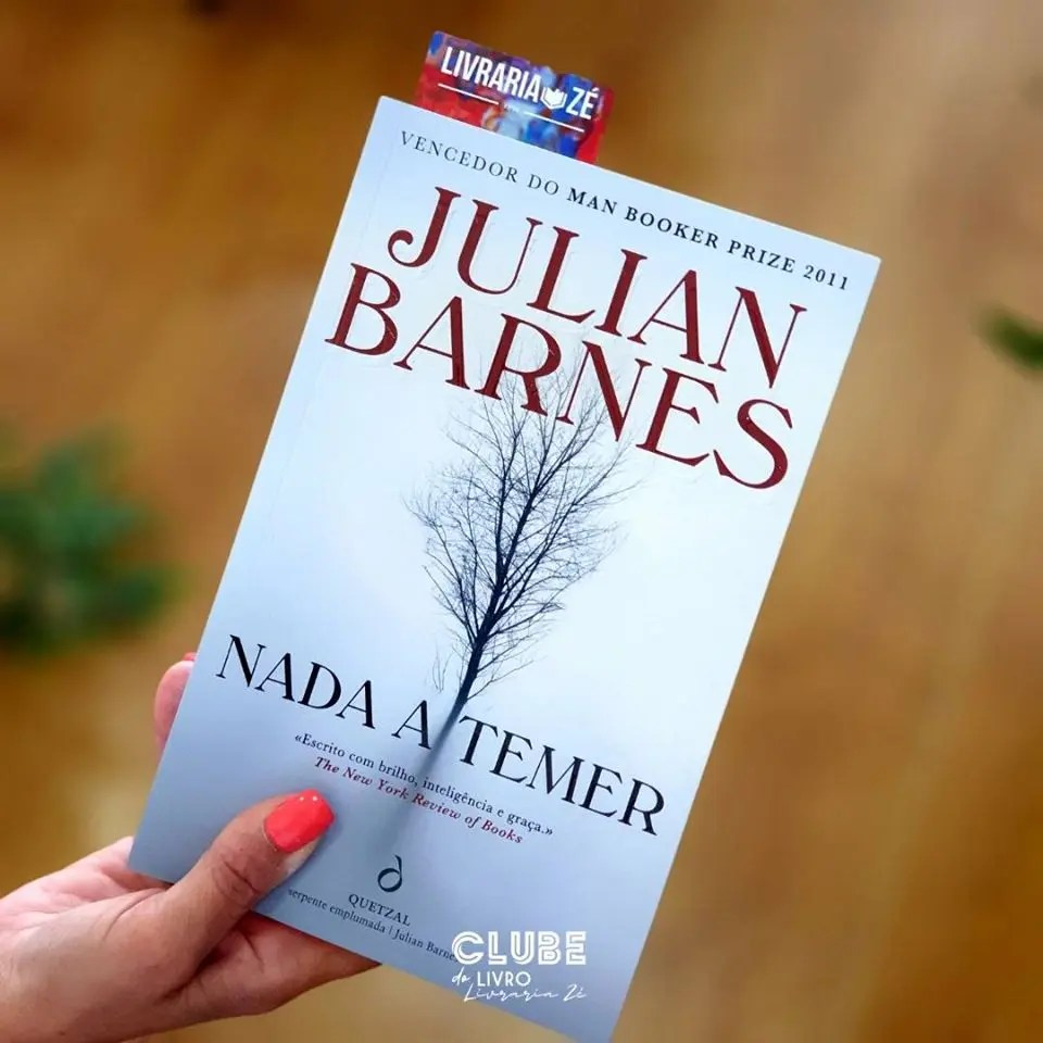 You are currently viewing Clube do livro Livraria Zé – Nada a temer