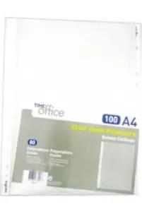 Sacas de catálogo A4 – embalagem com 100 micas / 80 Mic FIRMO