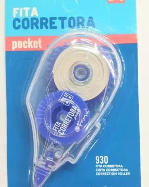 Fita corretora pocket 930 5mm x 12m FAMA