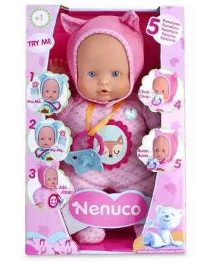 Boneco Nenuco Soft 5 funções FAMOSA