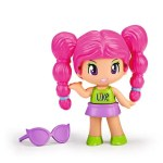 Pinypon new look cabelo rosa 30577