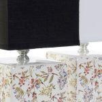 Candeeiro mesa cerâmica 25.5 cm- 1 unidade