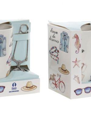 Caneca de chá com difusor New Bone – 1 unidade
