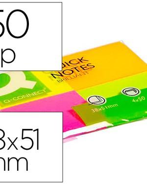 Bloco de notas adesivas fluor 40×50