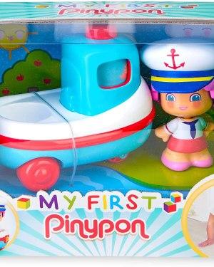Barco e figura My First Pinypon