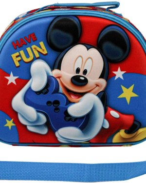 Lancheira Mickey Mouse Gamer 3D