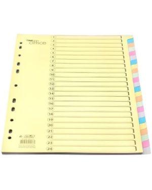 Separadores em cartão A4 – conjunto de 24 separadores