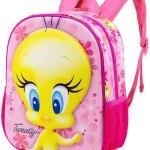Mochila Tweety 3D Pink
