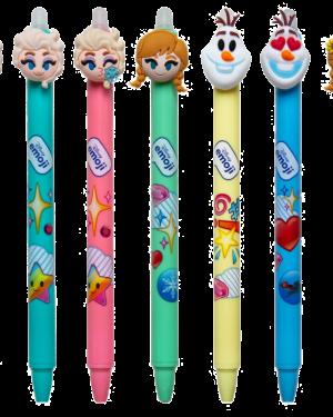Caneta apagável Frozen (1 unidade)